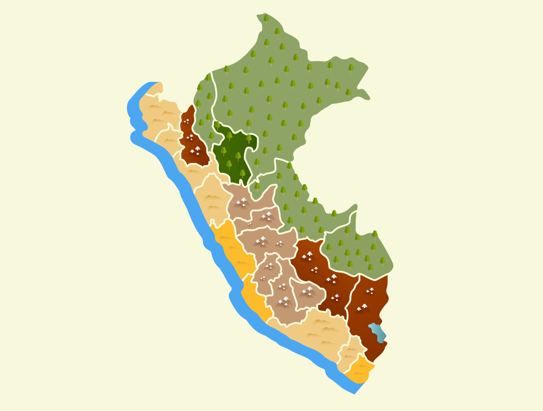 Ingenieria Mapa del Peru SUMPA